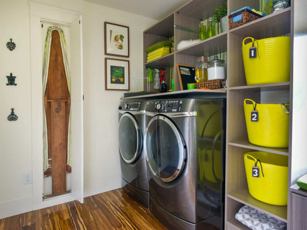 DIY Network's Blog Cabin 2014. Pictured is the laundry room.